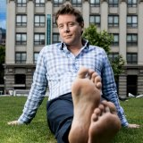 The Barefoot Investor Scott Pape has made more than enough to buy shoes.