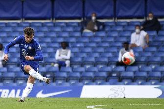 Mason Mount shoots Chelsea into the Champions League.