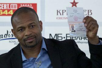 Tyson's opponent, Roy Jones jnr, pictured here in 2015.