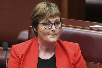 Former defence minister Linda Reynolds.