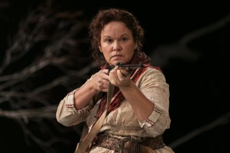 Leah Purcell in The Drover's Wife: The Legend of Molly Johnson.