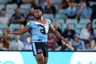 State Of Origin 2020 Payne Haas On His Fight With Tino Fa Asuamaleaui