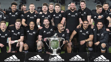 New Zealand have owned the Bledisloe trophy since way back in 2003.