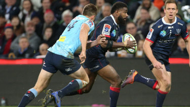 Marika Koroibete was one of the Wallabies that the Rebels had to manage under the national agreement.