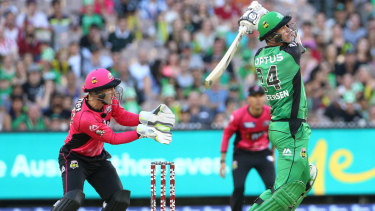 Filling up fast: The expansion of the Big Bash League will stretch what is already a tight cricket calendar.