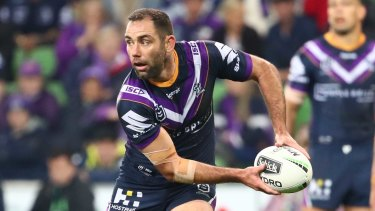 Cameron Smith has almost as much NRL finals experience as the entire Raiders squad.