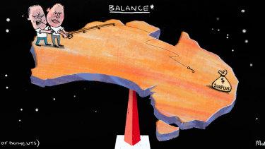 Tricky balance.
