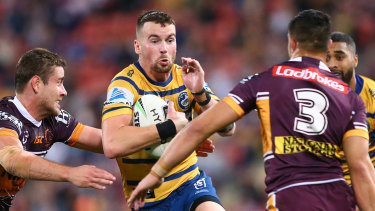 Do or die: The Eels' season goes on the line against Brisbane in the elimination final.