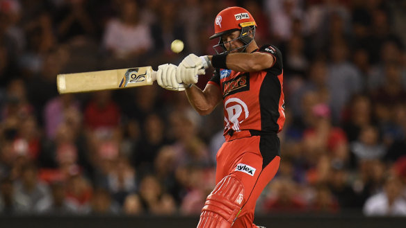 Daniel Christian smashed the Renegades to victory in a thrilling semi-final against the Sydney Sixers.