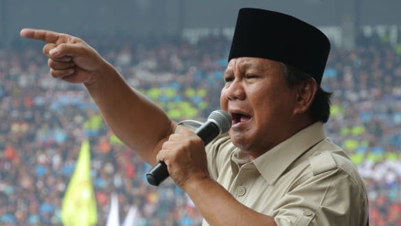 Does Prabowo have a 'thing', and other awkward questions