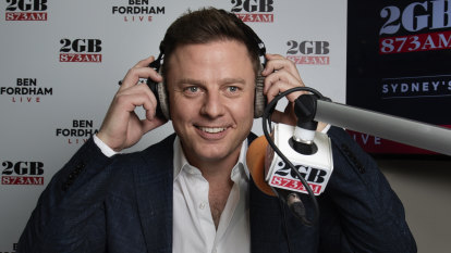 No sleep and Sunday morning tears: Ben Fordham takes over breakfast