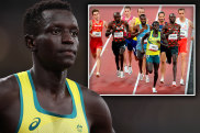 Peter Bol came fourth in the 800m final.
