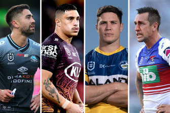 Some of the biggest names in the NRL are free to negotiate with rival clubs.