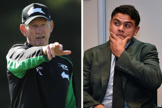The supercoach said not one of his fullback's three charges deserved a suspension in a passionate defence of his game breaker.