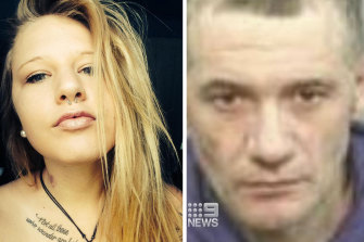 Maddison Hickson, 23, has been accused of stabbing her father, Michael JohnCarroll, 51, to death.