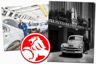 Holden's history in Australia.