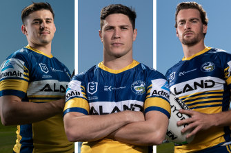 Reed Mahoney, Mitchell Moses and Clint Gutherson all say the Eels are staking their title hopes on finishing in the top four.