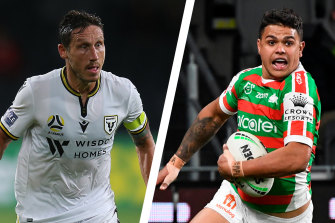 The A-League's newest club and NRL's oldest have teamed up.