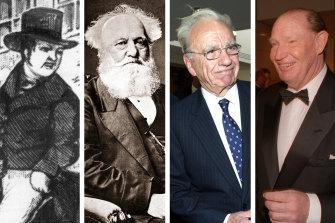 Samuel Terry, John Fairfax, Rupert Murdoch, Kerry Packer