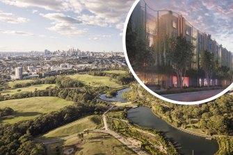 Composite - Supplied artist impressions of One Sydney Park development. Pic - HPG Australia Supplied artist impressions of One Sydney Park development. Pic - HPG Australia
