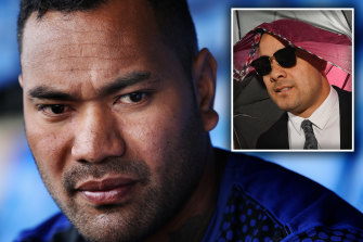 Tony Williams has apologised to the victim in the Jarryd Hayne sexual assault case after attacking her in an Instagram post.