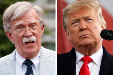 """John Bolton on Trump: """"He doesn't think in philosophical terms, or in terms of grand strategy, or in terms of policy as we conventionally understand it."""""""