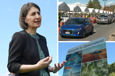 NSW two weeks from opening border with Queensland if all cases traced