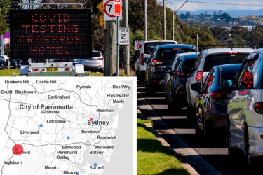 'Like wildfire, spots can spread quickly': The virus is racing across Sydney