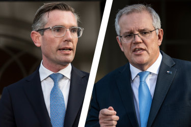 Dominic Perrottet did not speak to Scott Morrison about his quarantine changes, 2GB reports.