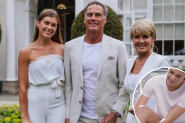 SHD EMERALD CITY. Julie Bishop stepdaughter Laura Pantone is a Chemist Wharehouse model. Supplied