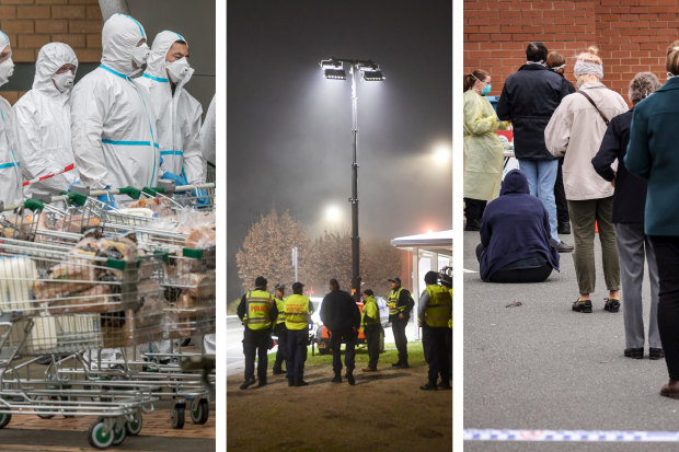 Experts believe Australia has entered a dangerous new phase of the pandemic as soaring infection numbers in Melbourne forced the city back into lockdown and put NSW on high alert for new COVID-19 clusters.