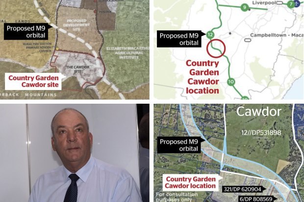 The maps at the heart of furore over developer's land grab