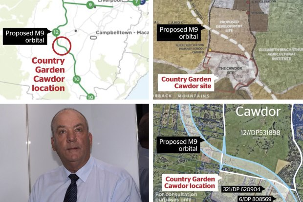The maps at the heart of furore over developer's land grab.