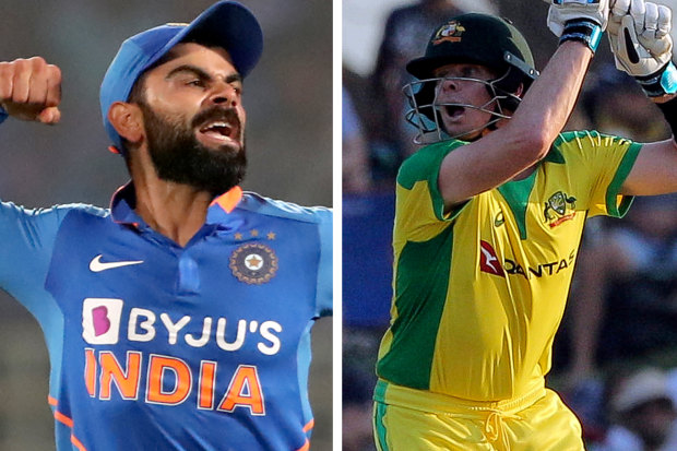 Virat Kohli and Steve Smith.