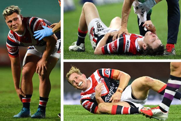 Roosters injuries