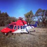 Helicopter crewman 'dragged through trees' during Queensland rescue