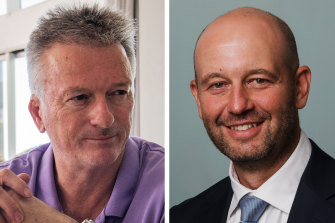 Steve Waugh and Todd Greenberg.
