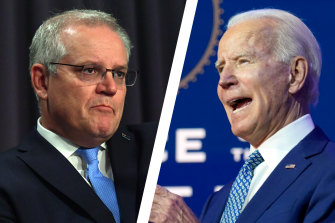 President-elect Joe Biden has already  discussed the importance of carbon emissions reduction technology with Prime Minister Scott Morrison.
