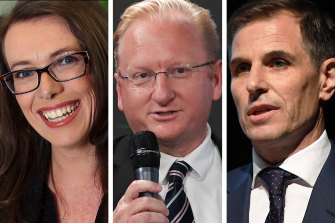 The Australian's Michelle Gunn, Sky News' Paul Whittaker and The Daily Telegraph's Ben English appeared on a panel at an internal meeting.