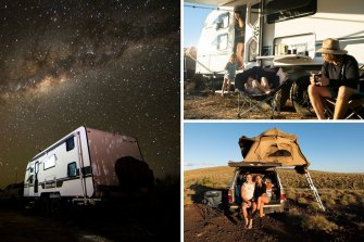 Australian families are taking to the road.