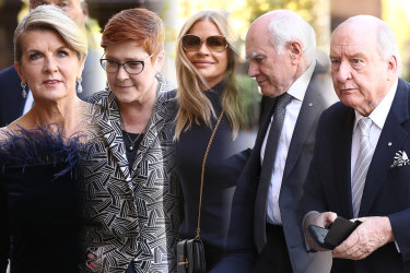 Famous Australians honoured Carla Zampatti at a state funeral on Thursday.