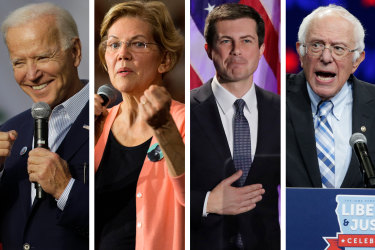 The four candidates are expected to debate one another next week.