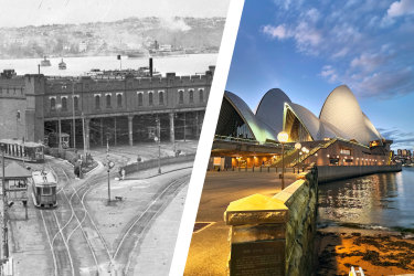 Bennelong Point, Sydney Opera House.