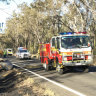 Woman dies, man and child critical after crash on Queensland road