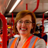 We got a sneak peek at riding Canberra's light rail