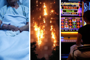 Surgery conducted on the wrong body part, elderly Australians assaulted in their aged care homes and high-rise buildings wrapped in cladding that is ready to burn.