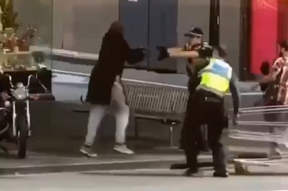Hero rookie cop ran to save victim after shooting Bourke St terrorist Shire Ali