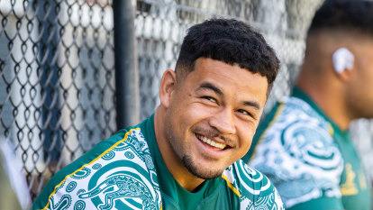 How Hunter Paisami climbed from building sites to Wallabies regular inside a year