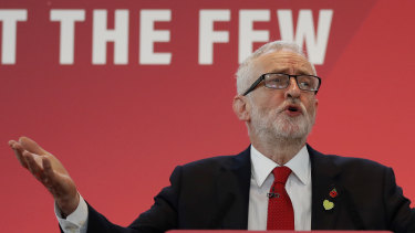 Investors in London are terrified of what Jeremy Corbyn might mean for the economy.