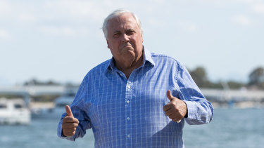 Clive Palmer has not registered his political party in time for the WA Election.
